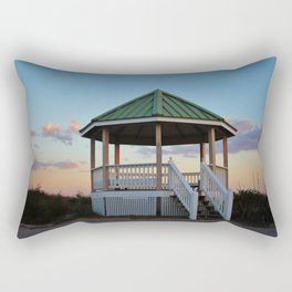 Gazebo At The Beach Rectangular Pillow