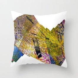 Wiggle Worm Throw Pillow