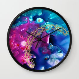 We Are Home Wall Clock
