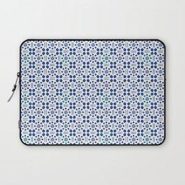 indigo clover tiles Laptop Sleeve
