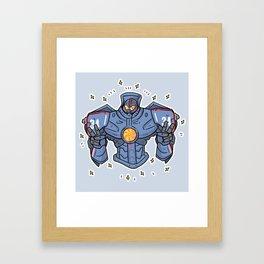 Gisy Danger  Framed Art Print