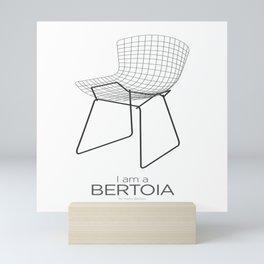 Chairs - A tribute to seats: I'm a Bertoia (poster) Mini Art Print