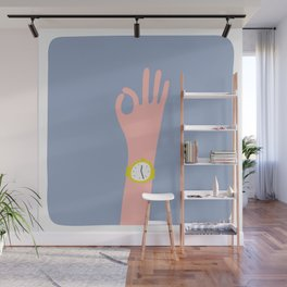 Cool Hand Illustration Wall Mural