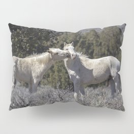Wild Horses with Playful Spirits No 2 Pillow Sham