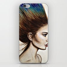 Ombre Hair iPhone & iPod Skin