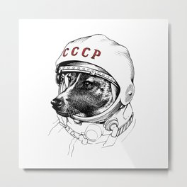 space traveler Metal Print