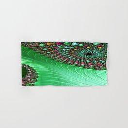 Carnival Green Hand & Bath Towel