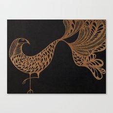 Golden Bird #1 Canvas Print