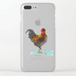 The Rooster Clear iPhone Case