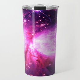 Space Galaxy : a Star is born Pink Purple Travel Mug