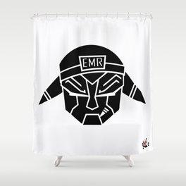 EMR - AUDIOBOT Shower Curtain