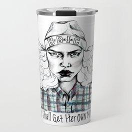 #STUKGIRL H.B.I.C Travel Mug