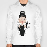 audrey Hoodies featuring Audrey by 7pk2 online
