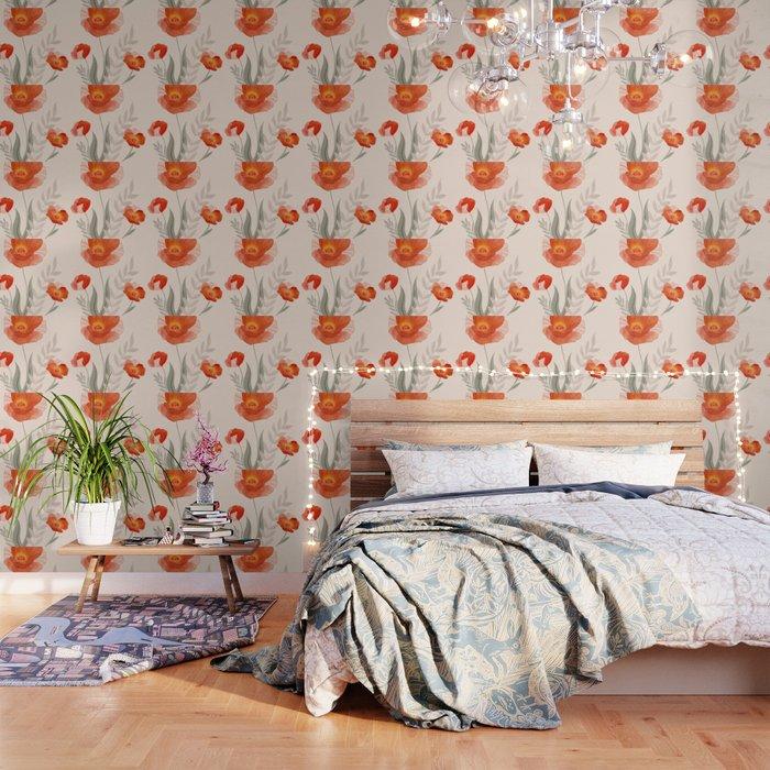 Summer Flowers II Wallpaper