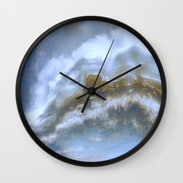Mile High Plains Colorado Wall Clock