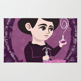 Women in science | Marie Curie Rug