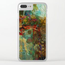 Fall to Winter Clear iPhone Case