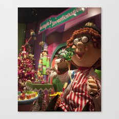 Toy Window Canvas Print