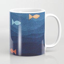Coloured fish say hooray Coffee Mug
