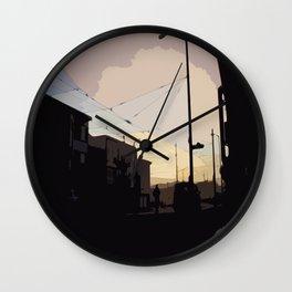 Sunset, San Francisco  Wall Clock