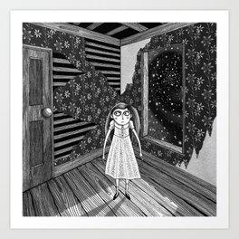 The Empty Room  Art Print