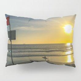 Sunset on Coronado Beach, California Pillow Sham