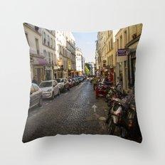 Montmartre series 5 Throw Pillow