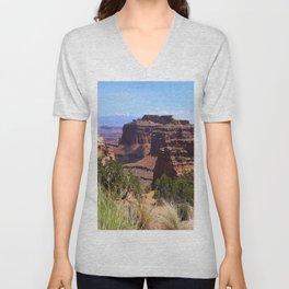 Shafer Canyon Overlook Unisex V-Neck