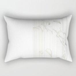 Sensual Dance white   Danse Sensuelle blanche Rectangular Pillow