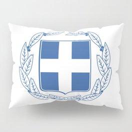 Coast of arms of Greece Pillow Sham