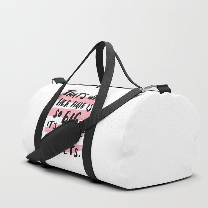 It's Full Of Secrets Duffle Bag