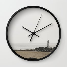 Santa Cruz Light House Wall Clock