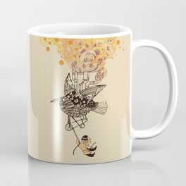 The wacky traveling machine Coffee Mug