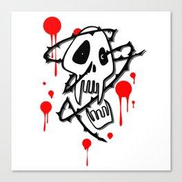 Bloody Sucker Canvas Print