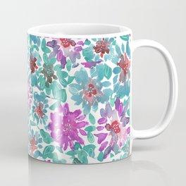 Spring summer colorful botanical pink pattren design Coffee Mug