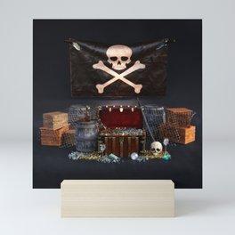Pirate Treasure Mini Art Print