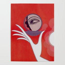 """Art Deco Design """"Compact - Vanities"""" Poster"""