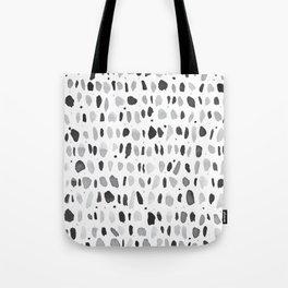 Drops Pattern Tote Bag