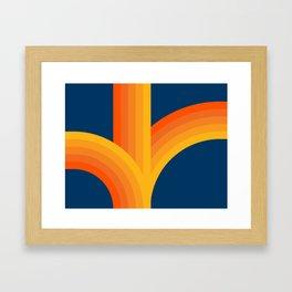 Bounce - Sunset Framed Art Print