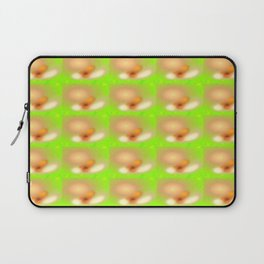 0607 Blossoms, seen with cataract ... Laptop Sleeve