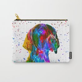 German Shorthaired Pointer Low Poly Carry-All Pouch