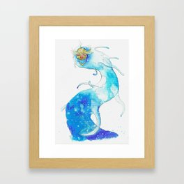 God River, second version Framed Art Print