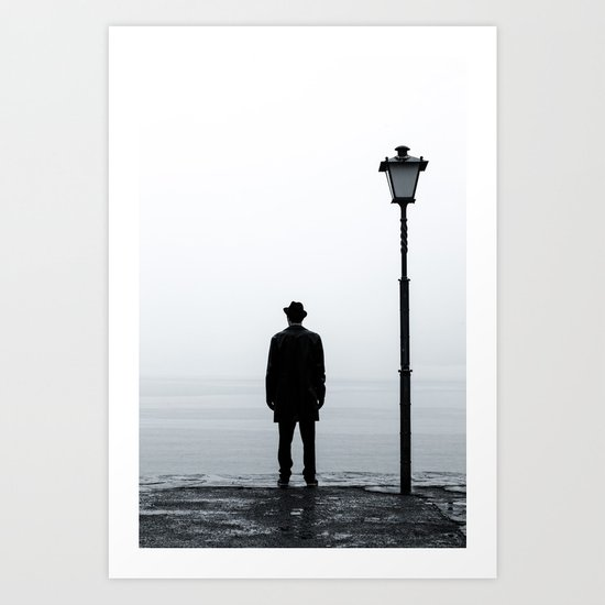 I wait for you Art Print