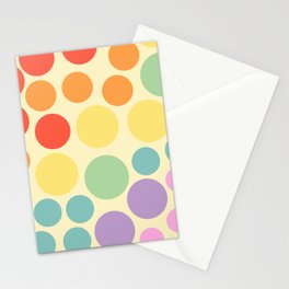 seeing dots Stationery Cards