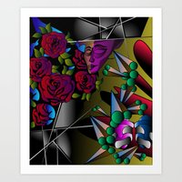 What's in your mind? Art Print