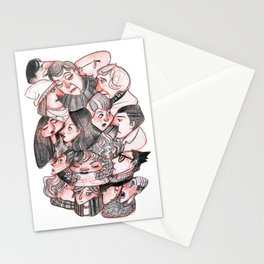 People Mix Stationery Cards