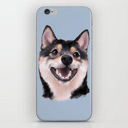 Smiling Shiba Inu iPhone Skin