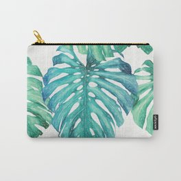 Leaves Palm 3 Pattern Carry-All Pouch