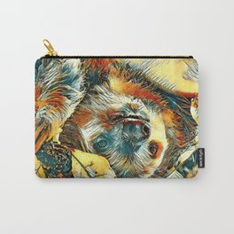 AnimalArt_Sloth_20171202_by_JAMColorsSpecial Carry-All Pouch