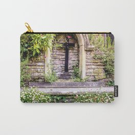 Usk Castle St George Chapel 2 Carry-All Pouch